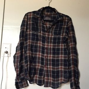 Joes Plaid button up shirt